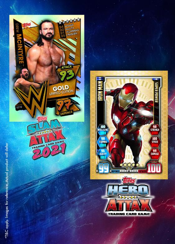Slam Attax Universe, Marvel Hero Attax