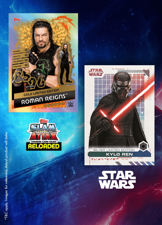 Slam Attax Universe, Star Wars