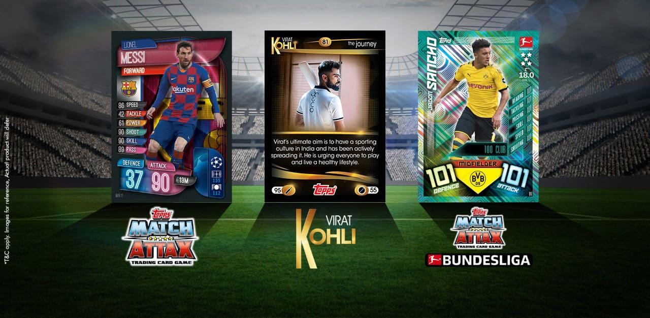 Match Attax, Virat Kohli