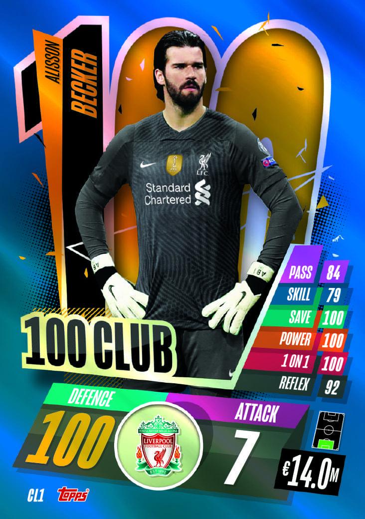 100 CLUB  CARDS
