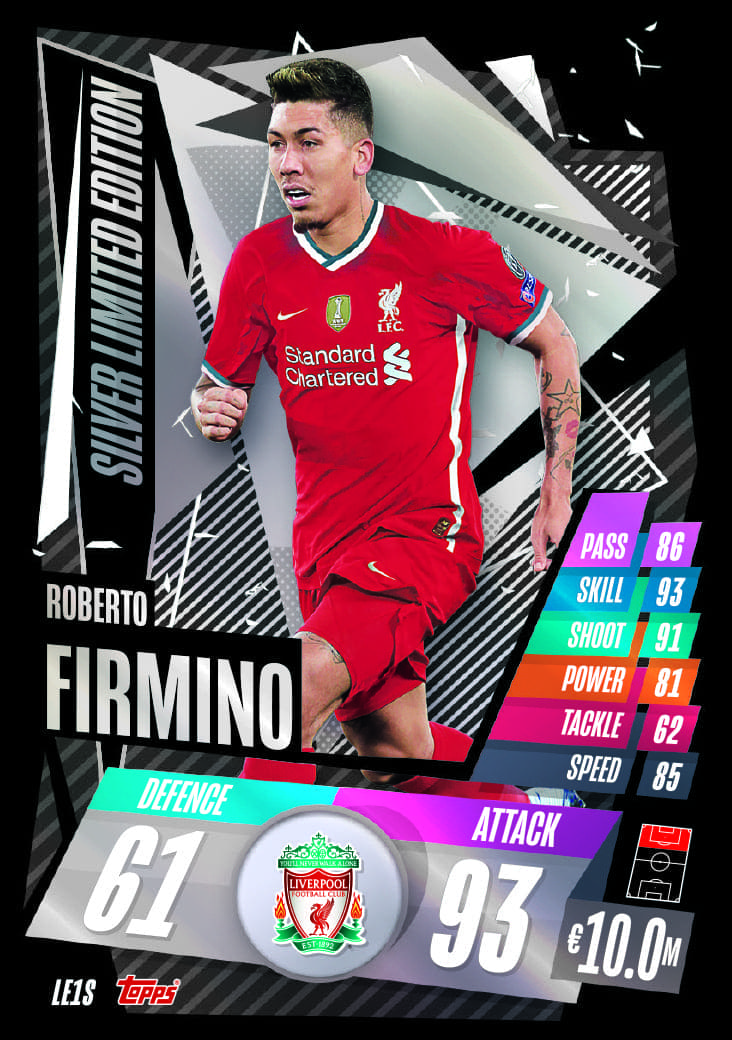 Silver Limited Edition Cards