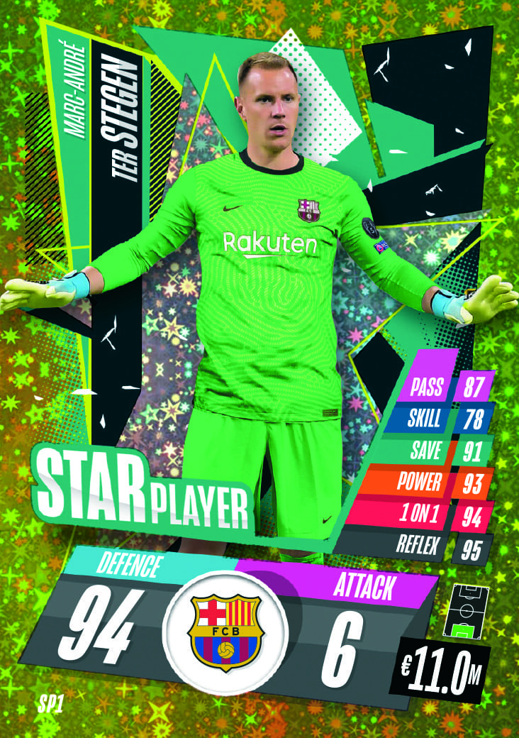 Star Player Cards