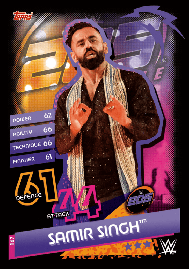 205 LIVE CARDS